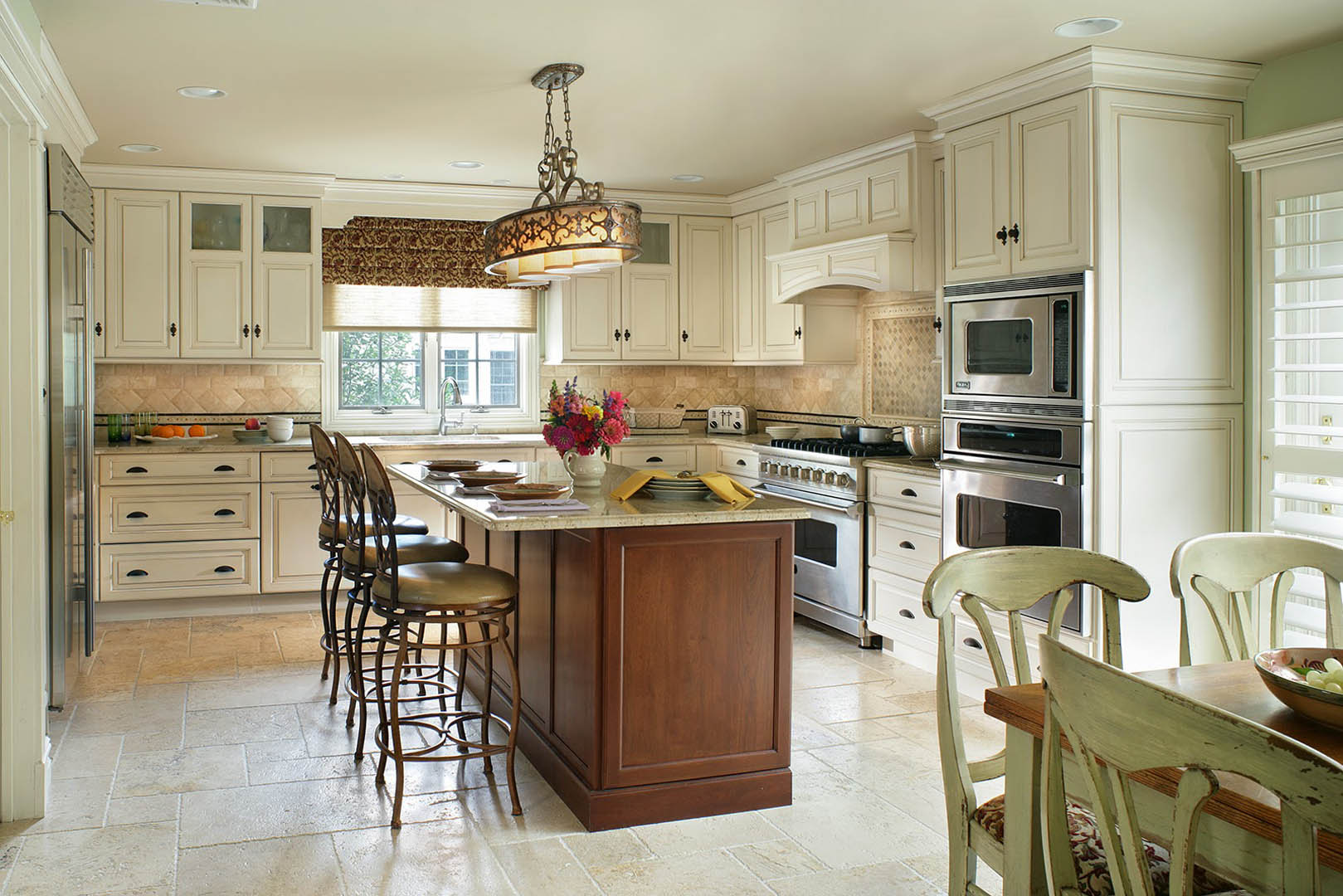 cream and caramel kitchen - thyme & place design