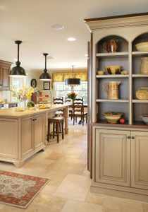 Sharon L Sherman, Kitchen Designer NJ, Bathroom Designer NJ, Thyme & Place Design, open shelves