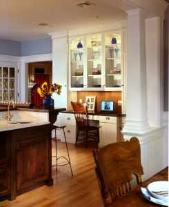 Home Office Sharon L Sherman, Thyme & Place Design, Kitchen Designer NJ, Bathroom Designer NJ